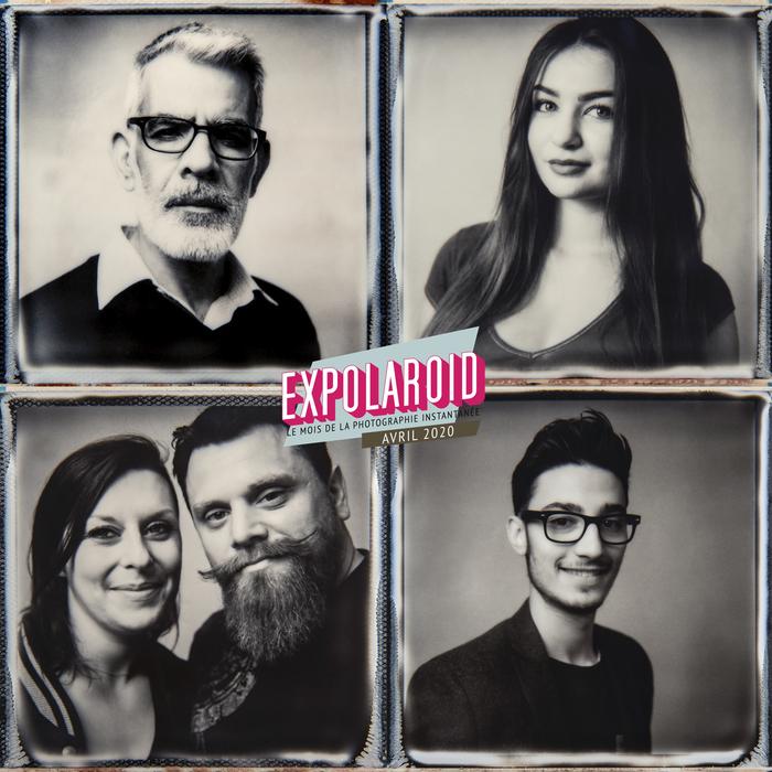 Portraits Polaroid avec le photographe Alain Guillemaud