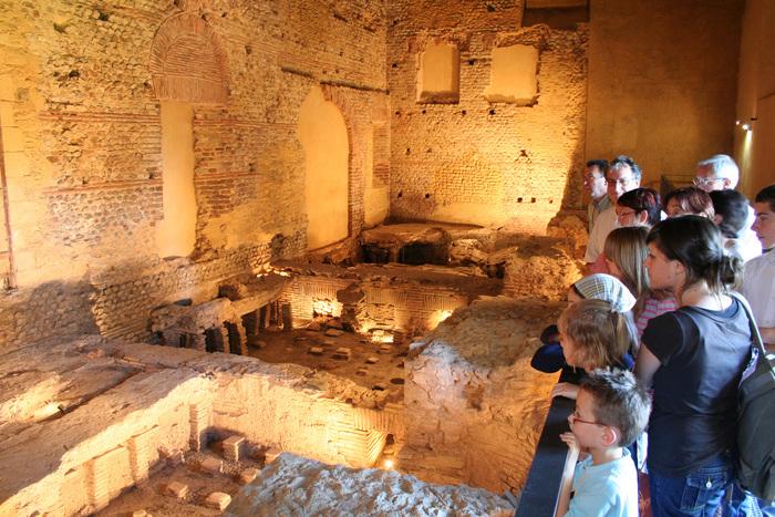 Journées du patrimoine 2020 - Visites guidées des thermes gallo-romain d'Entrammes