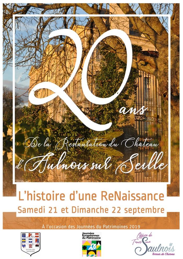 Journées du patrimoine 2019 - Visite guidée du Château d'Aulnois sur Seille