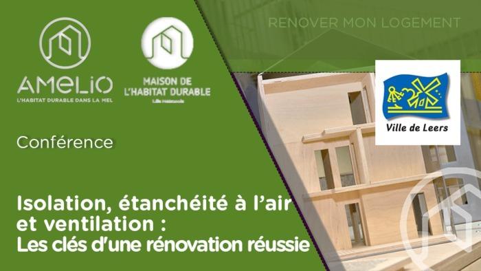 Les clés d'une rénovation réussie: isolation, étanchéité à l'air et ventilation