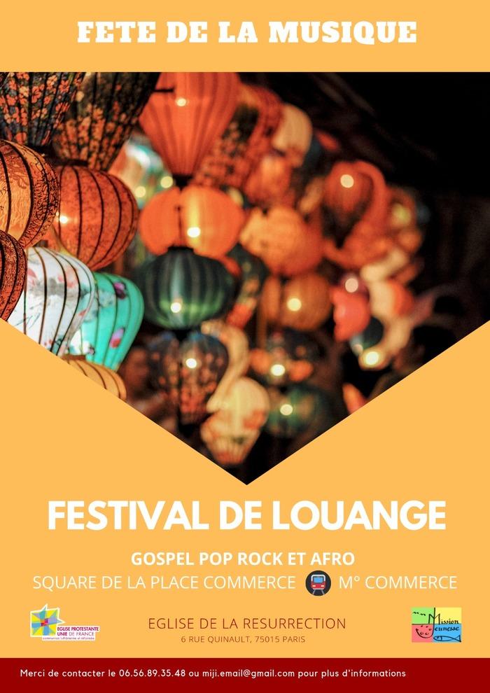 Fête de la musique 2019 - Festival de louange - Gospel Pop Rock et Afro
