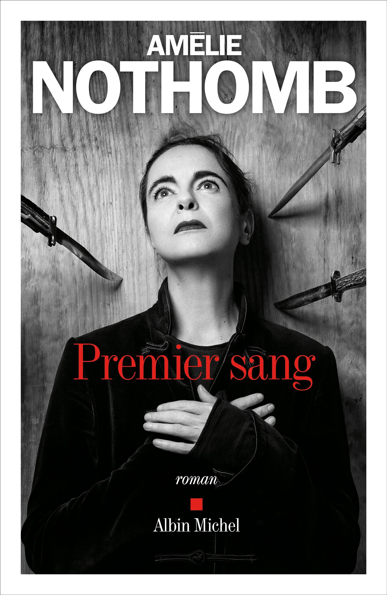Amélie Nothomb présente son 30ème roman, Premier sang