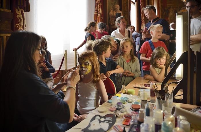 Journées du patrimoine 2019 - Démonstration des maquilleurs de l'Opéra Comique