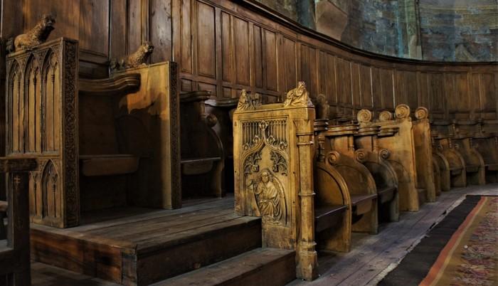 Journées du patrimoine 2020 - A la découverte des stalles de la cathédrale d'Embrun