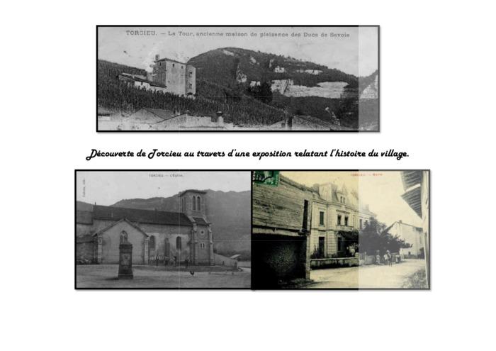 Journées du patrimoine 2020 - Exposition sur l'histoire du village