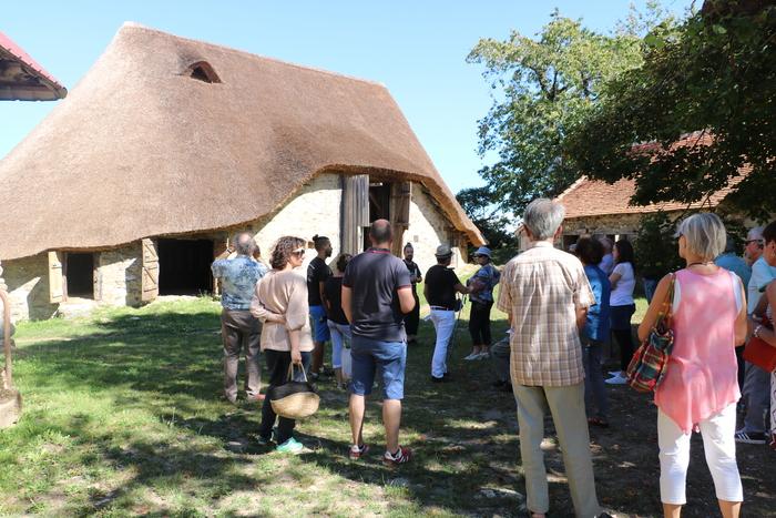 Journées du patrimoine 2020 - Visites guidées de la grange ovalaire de Saint-Eloy-les-Tuileries
