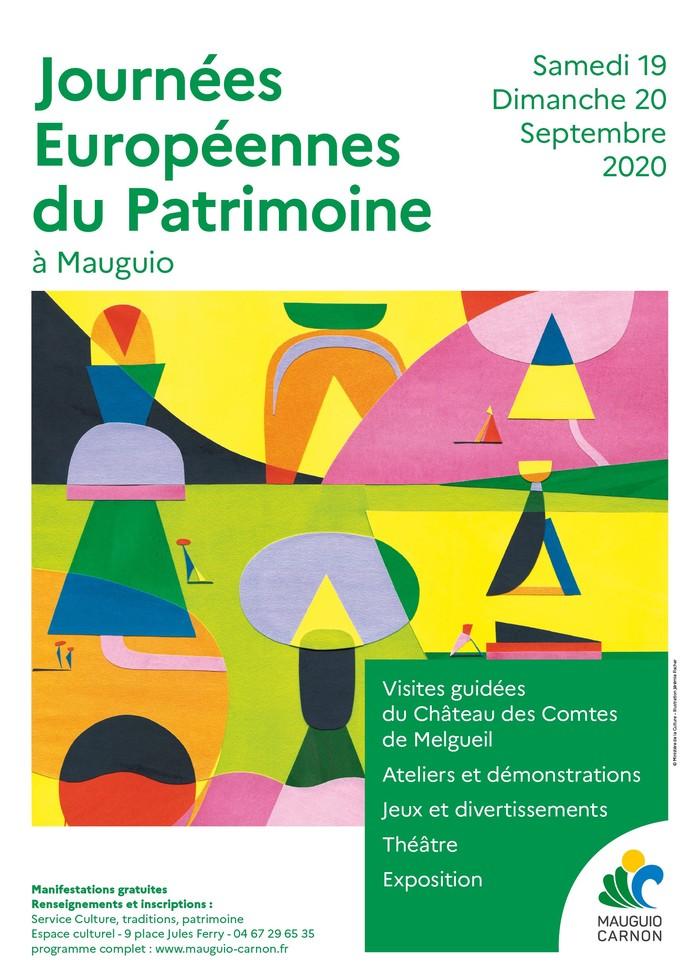 Journées du patrimoine 2020 - Découverte du patrimoine de la ville de Mauguio-Carnon