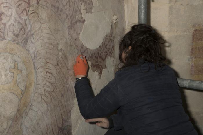 Journées du patrimoine 2019 - Autour de nombreuses animations, venez découvrir les peintures, récemment mises au jour et le travail de restaurateur du patrimoine.