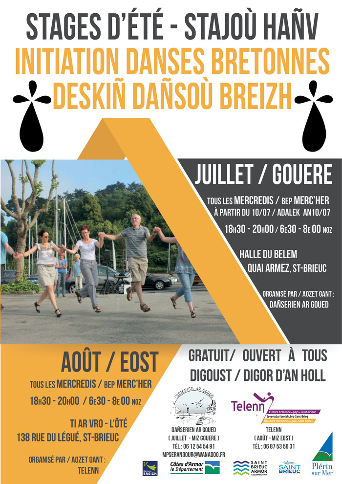 Initiation aux danses bretonnes