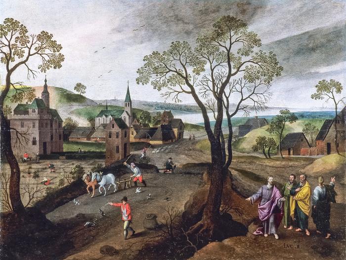 Journées du patrimoine 2019 - Visite guidée de  la collection des 12 tableaux flamands