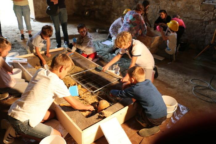 Journées du patrimoine 2019 - Initiation à la fouille archéologique sur le thème du Moyen-Age