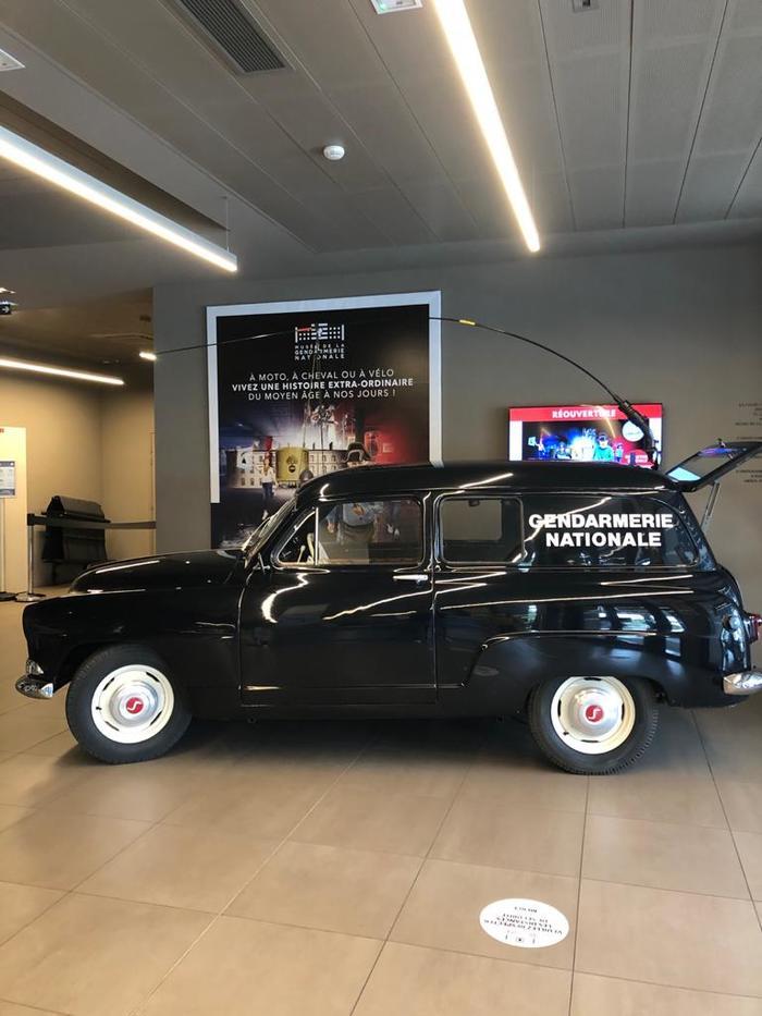 Journées du patrimoine 2020 - Des véhicules anciens au musée de la Gendarmerie nationale