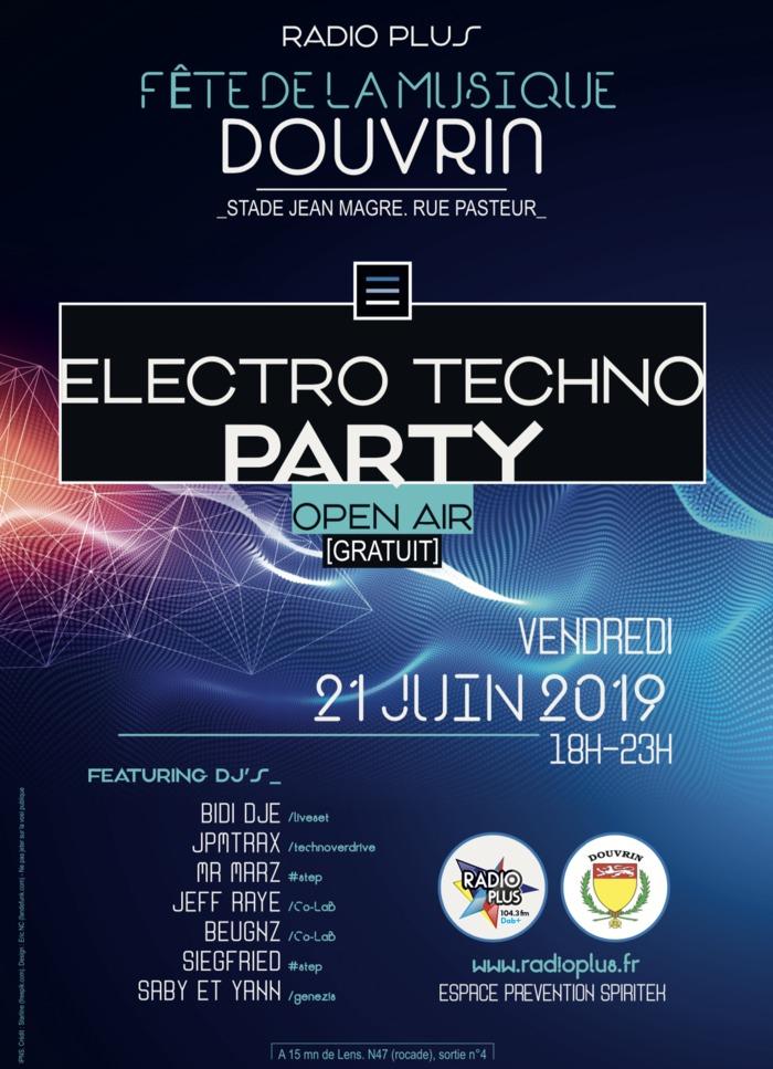 Fête de la musique 2019 - Electro Techno Party