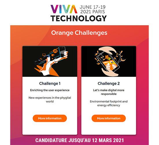 Challenge Startup - Viva Tech 2021