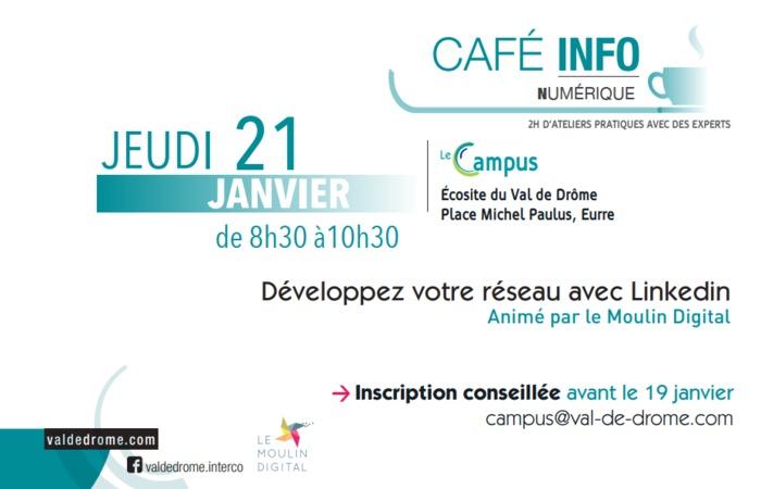 CAFE INFO NUMERIQUE - Développer votre réseau avec Linkedin