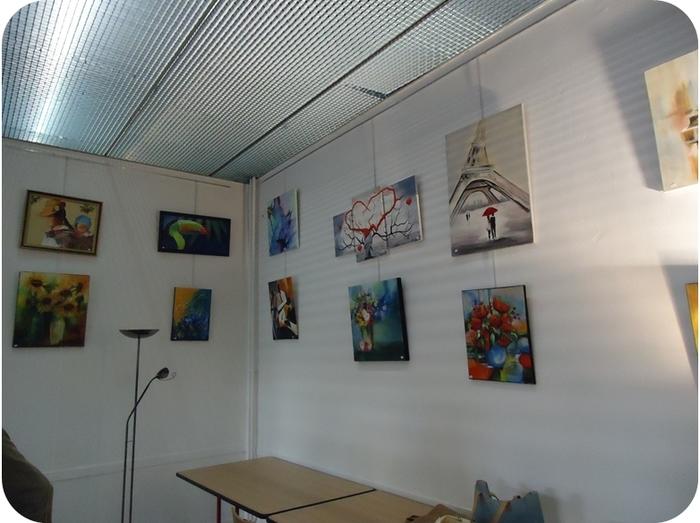 Journées du patrimoine 2019 - Exposition de peintures à l'hôtel du Nivernais
