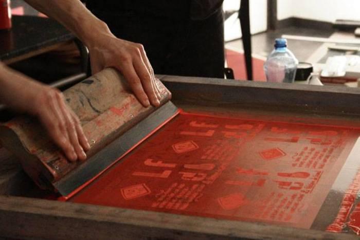 Journées du patrimoine 2020 - Atelier de sérigraphie