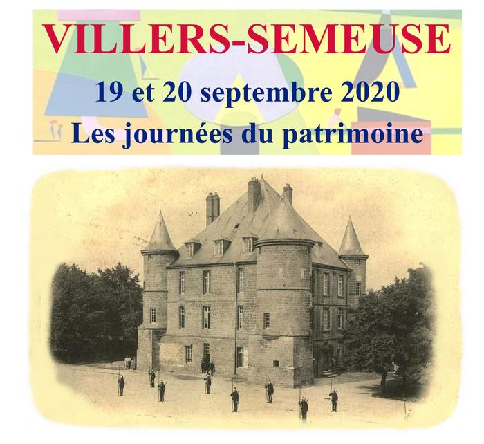 Journées du patrimoine 2020 - Exposition à Villers-Semeuse organisée par le Cercle Historique Jules Leroux
