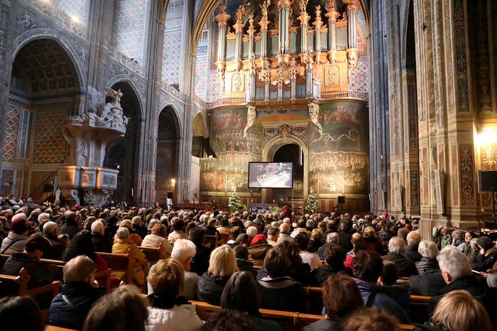 A la cathédrale Sainte-Cécile