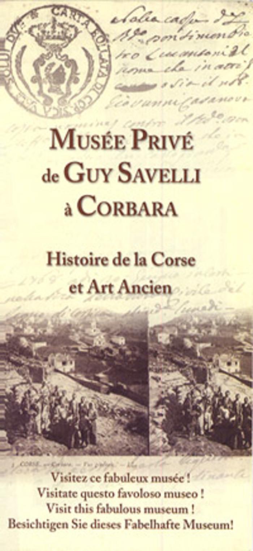 Journées du patrimoine 2019 - visite guidée du musée privé de monsieur Guy SAVELLI