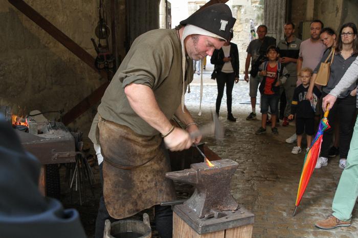 Journées du patrimoine 2020 - La forge au Moyen Âge