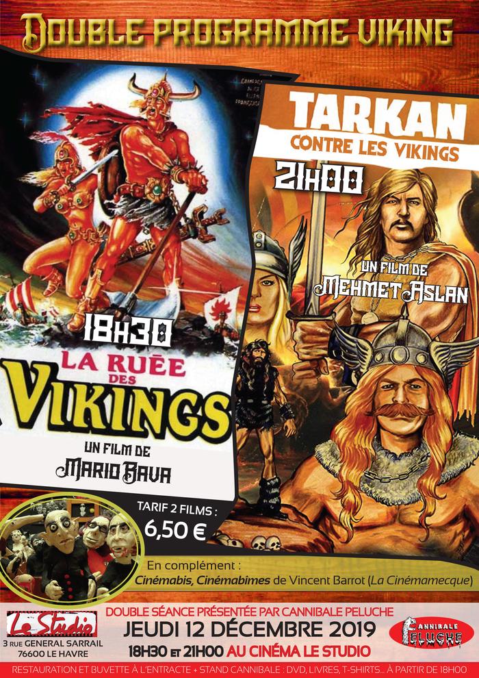 Double programme « Viking » : LA RUÉE DES VIKINGS + TARKAN CONTRE LES VIKINGS