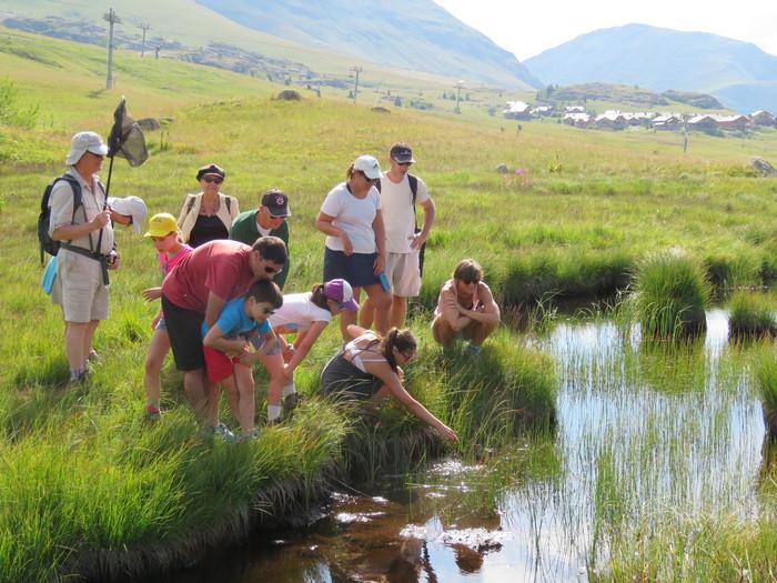 Journées du patrimoine 2019 - Visite de la zone humide remarquable du Rif Nel (2100m d'altitude, Alpe d'Huez)