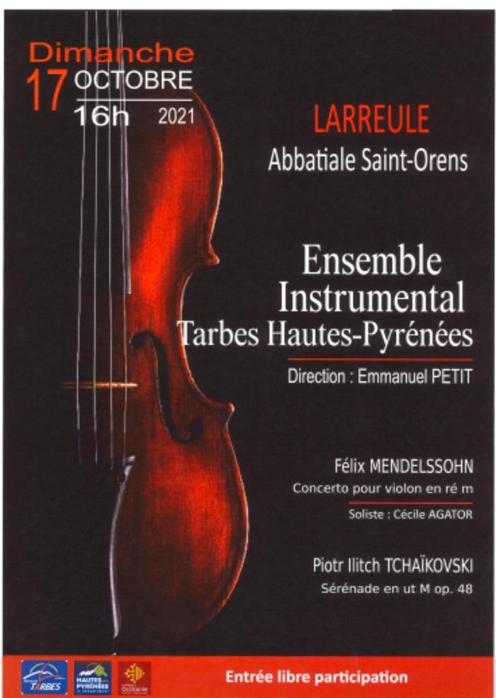 concert de l'Ensemble Instrumental de TARBES