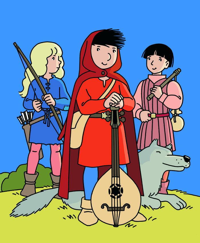 Journées du patrimoine 2019 - Dédicaces de la bande dessinée «Les aventures de Loupio» réalisée par Jean-François Kieffer