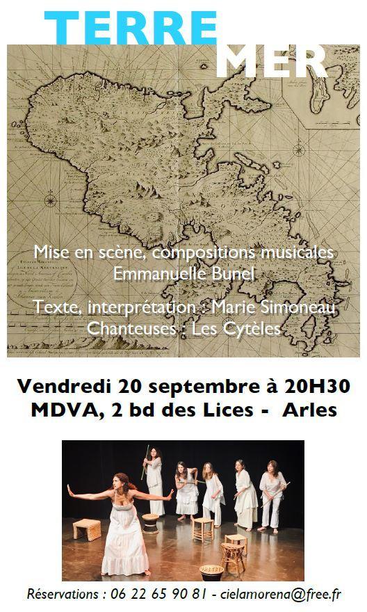 Spectacle conté et chanté en hommage aux aïeules de la Martinique