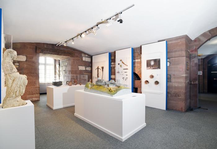 Journées du patrimoine 2019 - Visite guidée de l'espace archéologique du Musée d'Histoire de Belfort