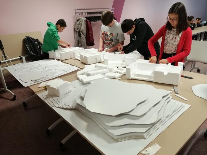 Journées du patrimoine 2020 - Présentation aux archives municipales de la maquette 3D de l'abbaye du Saint-Mont réalisée par des élèves de Remiremont