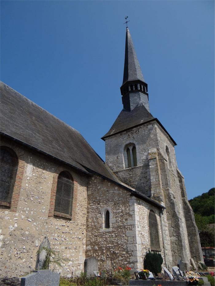 Journées du patrimoine 2019 - Visite libre de l'église Saint-Pierre de Bouafles