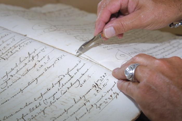 Journées du patrimoine 2020 - Démonstration de restauration et reliure