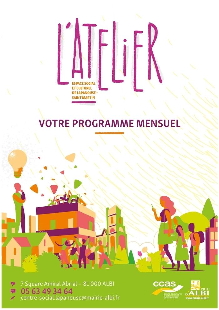 Par l'espace social et culturel de Lapanouse - Saint Martin