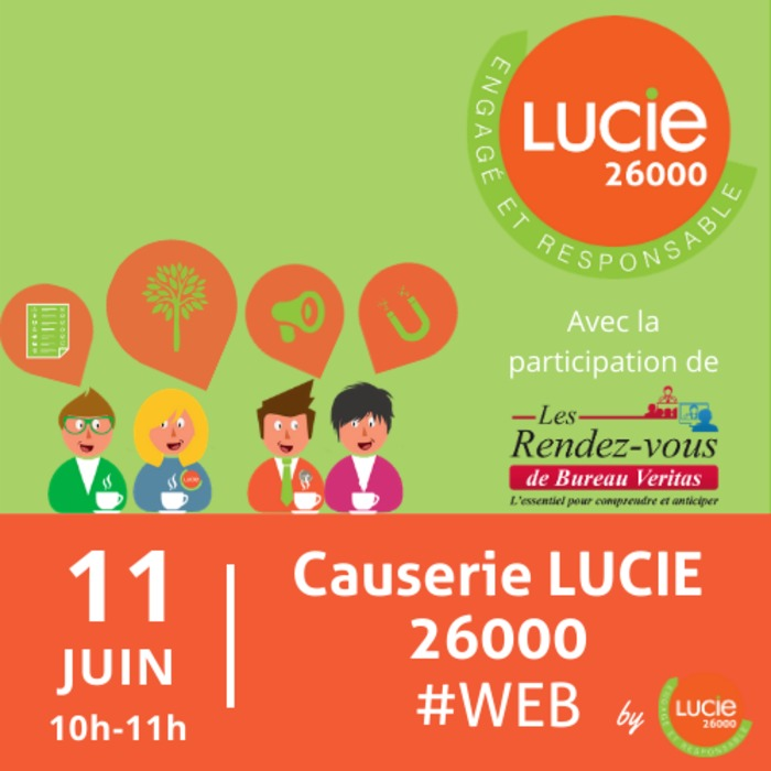 Causerie web LUCIE 26000 by LUCIE