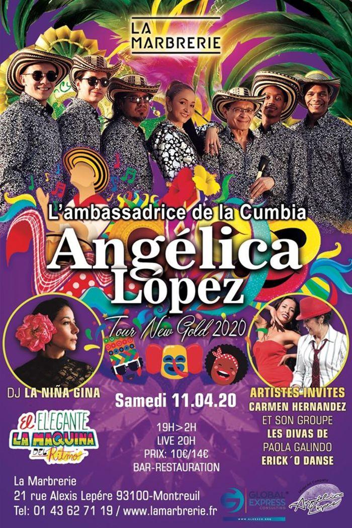 Angelica Lopez - l'ambassadrice de la cumbia colombienne
