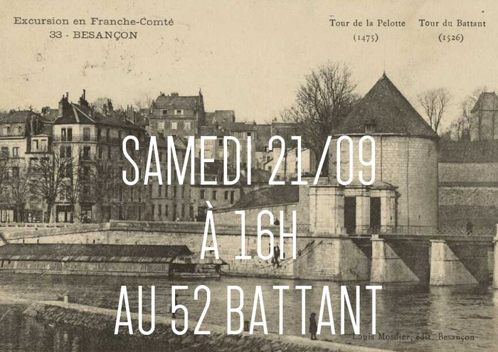 Journées du patrimoine 2019 - Déambulation à travers l'histoire des fortifications du quartier Battant