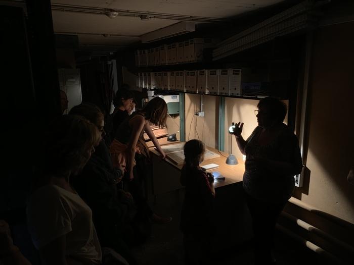 Journées du patrimoine 2020 - Les Archives au clair de lune, visite à la lampe torche.