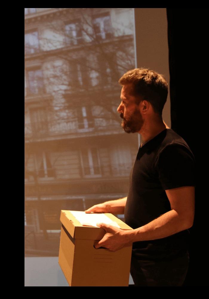 Journées du patrimoine 2020 - Théâtre aux Archives : Carnet de poche de Vincent Voisin
