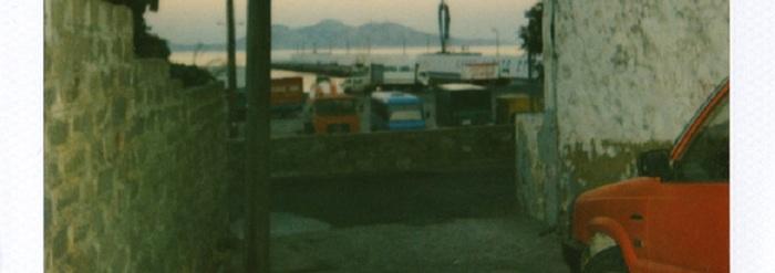 Un été grec : Polaroids originaux de John Lavoignat