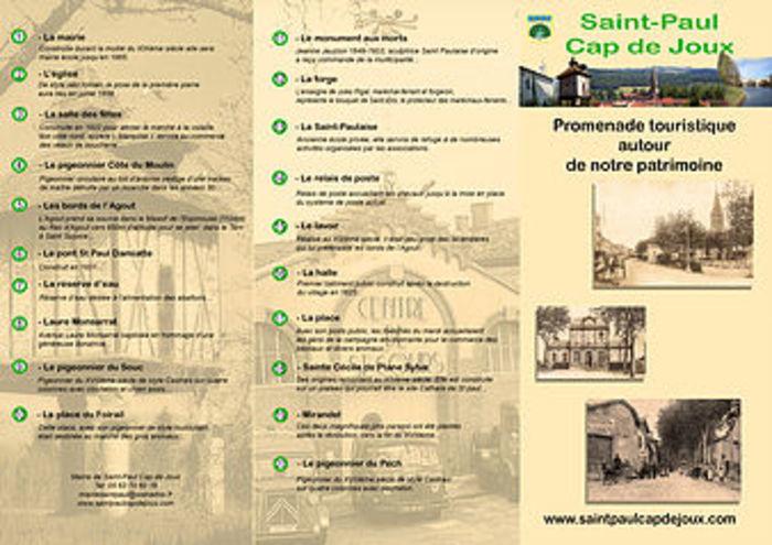 Journées du patrimoine 2020 - Promenade patrimoniale