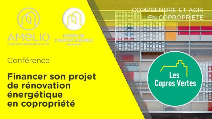 Annulé | Copros Vertes : Financer son projet de rénovation  énergétique en copropriété