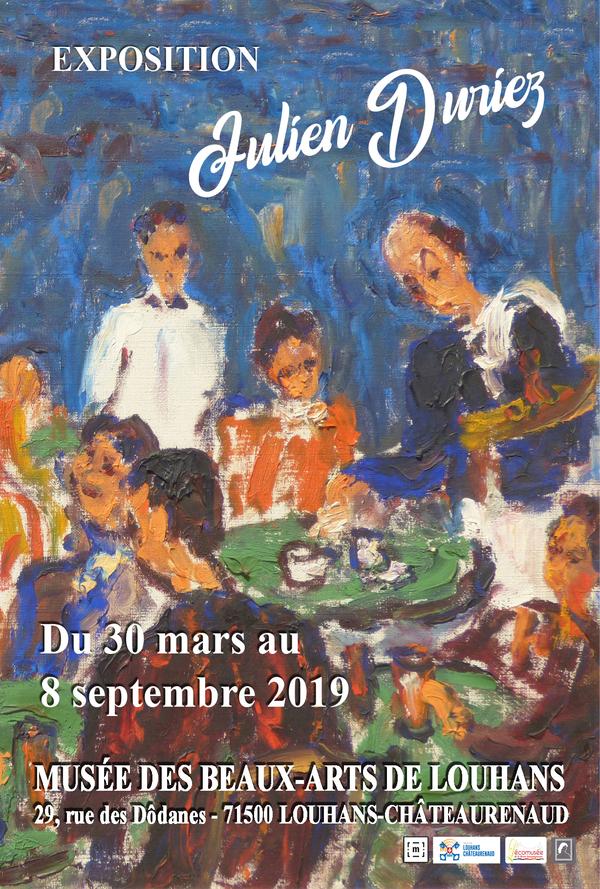 Nuit des musées 2019 -Exposition : Julien Duriez