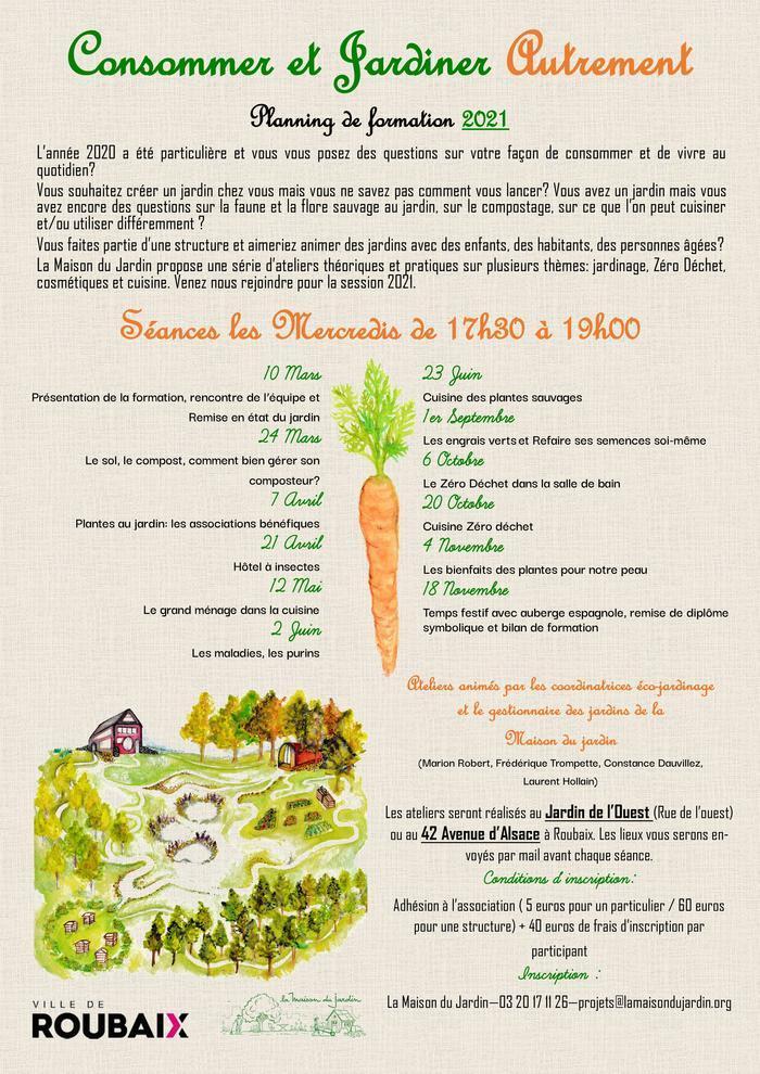 Consommer et Jardiner Autrement 2021