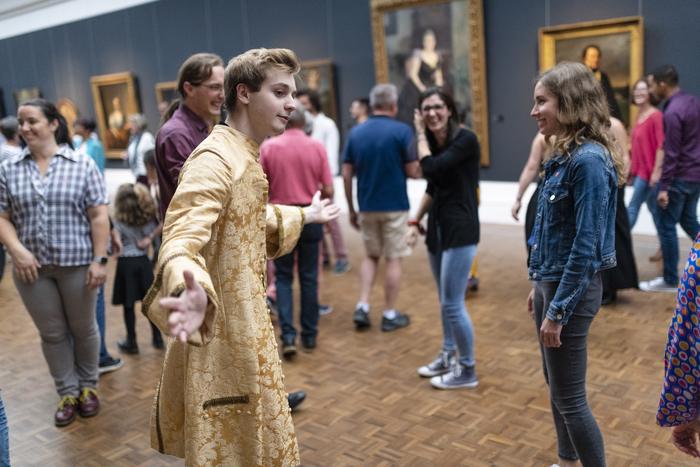 Journées du patrimoine 2020 - Danse baroque au musée ! Atelier découverte de la danse baroque par la compagnie Fêtes Galantes