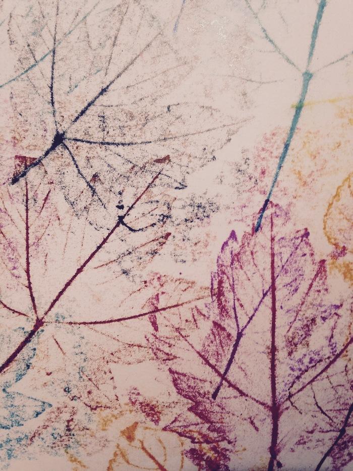 Journées du patrimoine 2019 - Atelier empreintes de végétaux