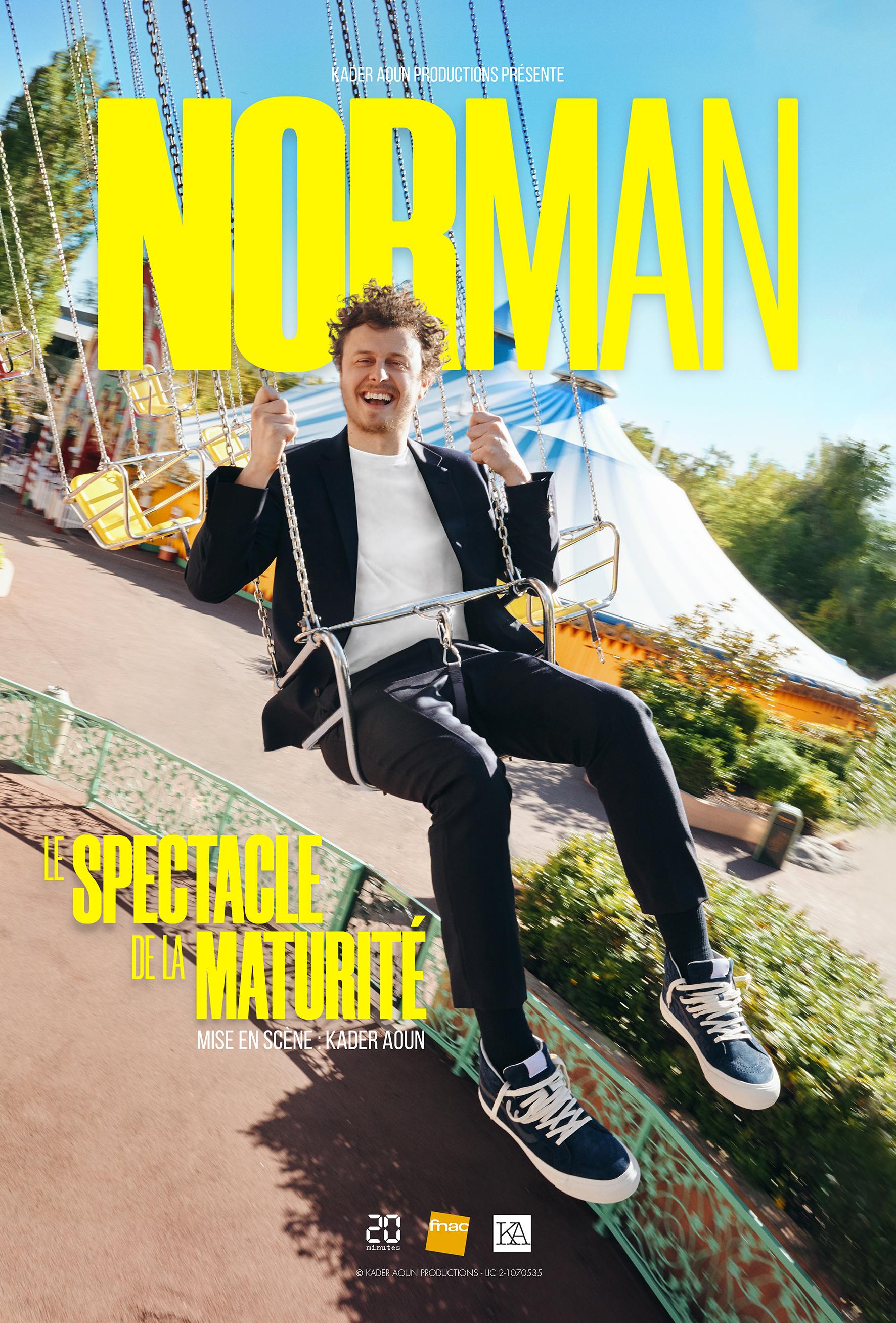 """Norman : """"Le Spectacle de la Maturité"""""""