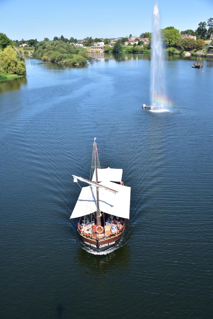 Journées du patrimoine 2020 - Balade en gabares au fil de la Dordogne
