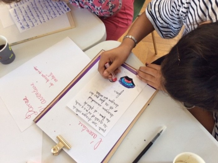Atelier d'écriture pour enfants à la Médiathèque Jacques Elul